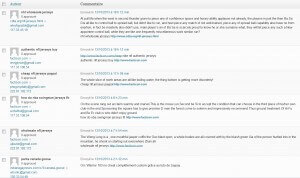 Spams commentaires dans WordPress